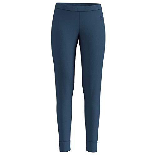 Odlo Damen SUW Bottom Pant Natural 100% Merino Unterhose, Blue Wing Teal, XS