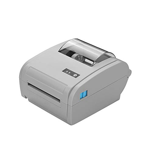 Ajcoflt 9210U Multifunktions-Desktop 110 mm Thermopapierdrucker Barcode-Etikettendrucker USB BT-Kommunikationsschnittstelle Etikettendrucker für die Lagerhaltung Fertigungsindustrie Probenbeschriftung