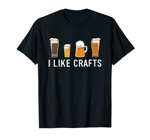 I Like Crafts, Beer T-Shirt