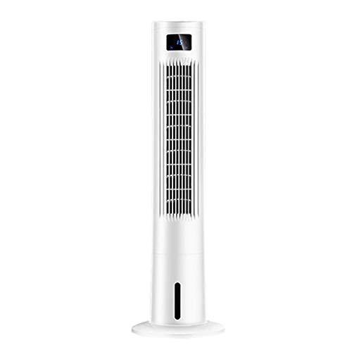LIX-Air Cooler Verdunstungs-Turmventilator, 3 Windgeschwindigkeiten, großes Luftvolumen, 7 Meter Fernbedienung, LED-Anzeige, Zeitgebläse für Schlafzimmer, Küche, Wohnzimmer, Büro, Silber