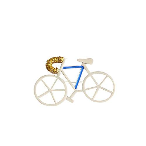 Vi.yo bella spilla design in lega di bicicletta spilla moda per le donne signore