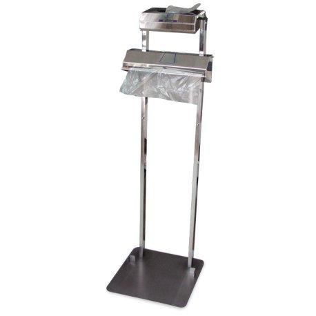 Fricosmos Conjunto dispensador de Guantes y Bolsas en Rollo Dimensiones: 400x425x1290 mm. - 080402