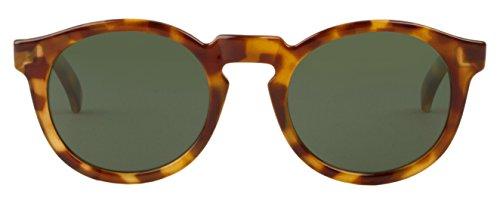 MR.BOHO, High-Contrast tortoise jordaan with classical lenses - Gafas De Sol unisex multicolor (carey), talla única