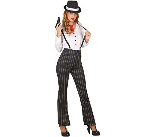 ATOSA disfraz gangster mujer adulto XS