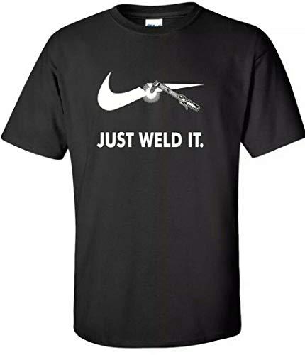 NR Just Weld It Funny Welder T-shirt