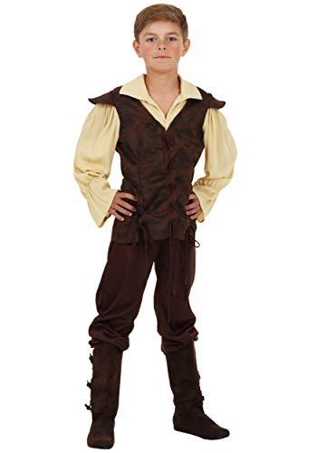 Boys Renaissance Squire Costume Small