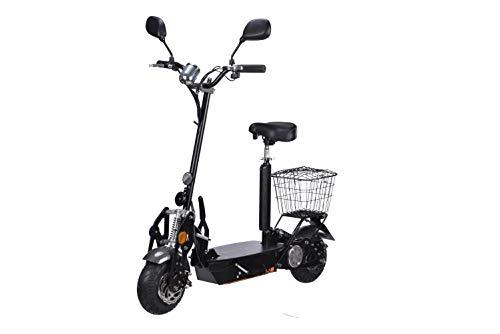 Elektro Scooter mit Straßenzulassung bis zu 35 km/h schnell - 25km Reichweite, 36V | 1000W | 12AH Akku -E-Scooter BEEC