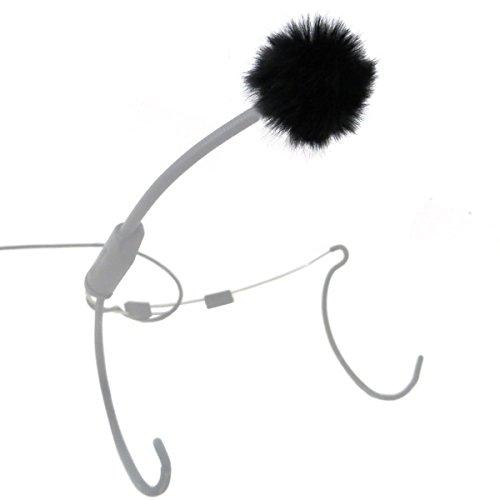 keepdrum WS05 Mini Fell-Windschutz für Headsets und Lavalier-Mikrofone