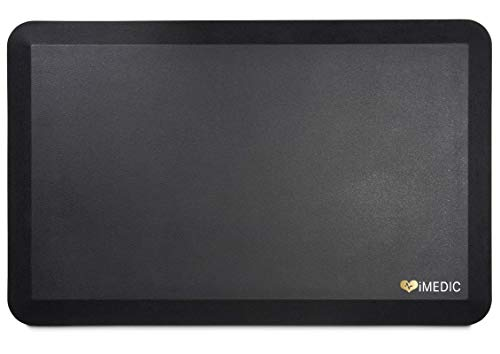 iMedic Anti Fatigue Standing Mat | Cushioned Foam Floor Mat For Kitchen, Standing Desk and...