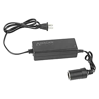 Wagan EL9903 - 5 amp AC to DC Power Adapter 5A Power Converter Converts 110V AC to 12V DC Car Cigarette Ligher Socket UL listed  Black