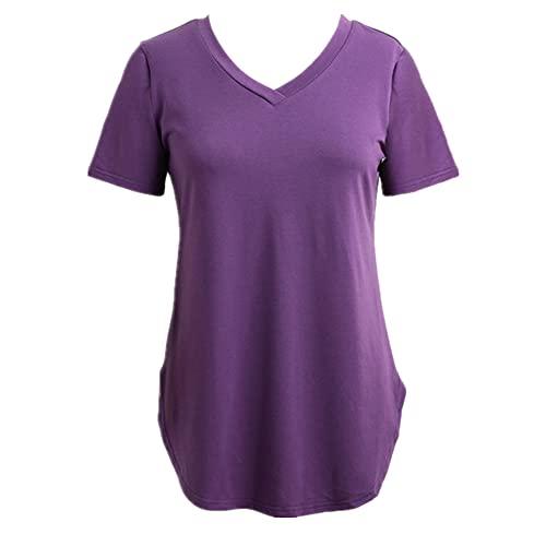 N\P Verano más el tamaño de las señoras blusa casual corsé mujeres manga corta más el tamaño largo