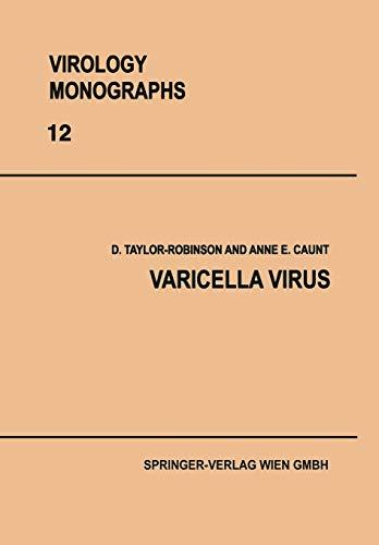 Varicella Virus (Virology Monographs Die Virusforschung in Einzeldarstellungen (12), Band 12)