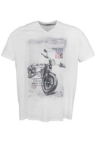 Kitaro Men Tshirt V1/2, Bright White, weiß((611)), Gr. 5XL