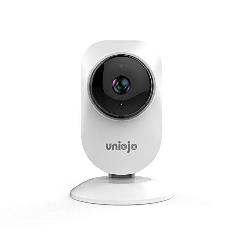 UNIOJO 1080P WiFi Camera Wireless IP Camera with Night Vision, Two Way Audio, Movement Tracking, Activity Alerts for Home/Office/Baby/Nanny/Pet Monitor with iOS, Android App - Cloud Service
