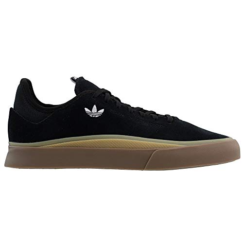 adidas Originals Sabalo, Zapatillas Unisex Adulto, Negro y Blanco (Black White Gum), 36 EU