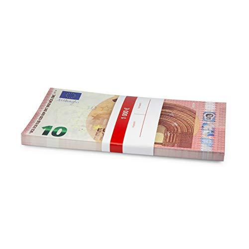 Litfax 10 € Euroschein/Euro-Geldscheine ca. 163 x 85 mm/banderoliert, je Pack. 75 Stück (1 PG)