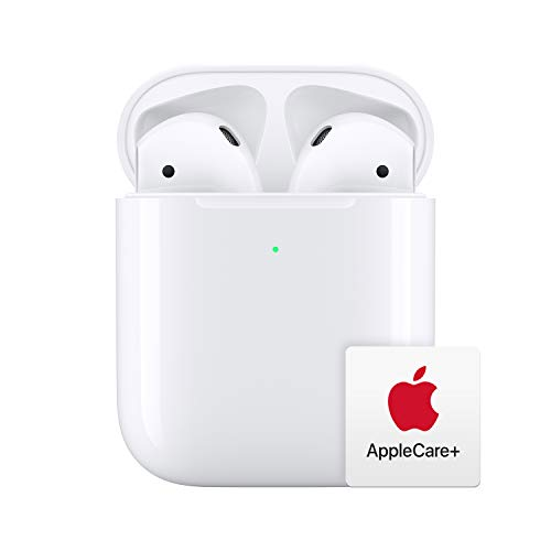 Apple AirPods with Wireless Charging Case with AppleCare+ Bundle