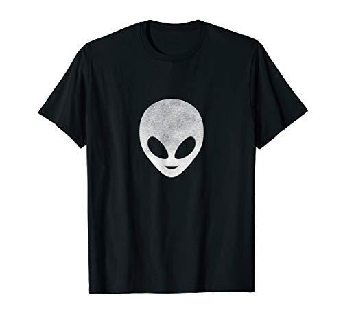 Außerirdischer Alien Kopf, Verschwörungstheorie, Kryptide T-Shirt