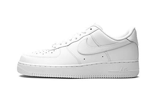 Nike Air Force 1 '07 - Scarpe da Basket Uomo, Bianco (White/White), 44 EU