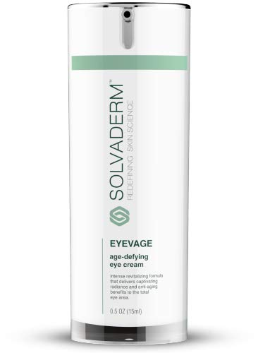 Solvaderm's Eyevage Anti-Aging Eye Rejuvenation Treatment Cream For Puffy Eyes, Dark Circles, Fine Lines, Wrinkles & Crow's Feet