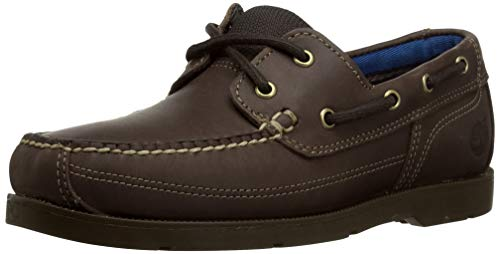 Timberland Men's Piper Cove Fg Boat Shoe, Chocolate Chamois, 10.5 M US