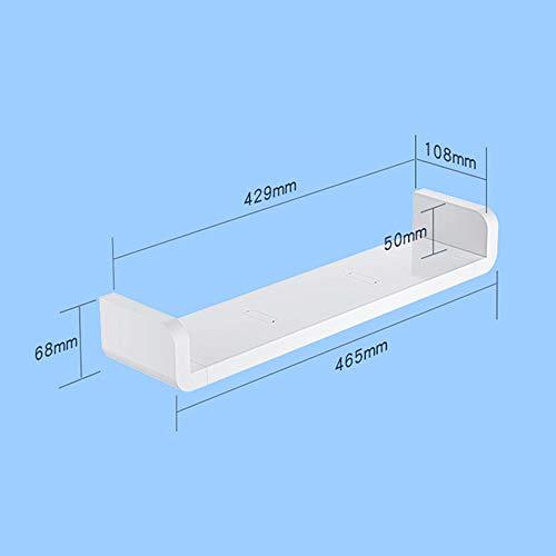 JEHO Badkamer Opslag Organisatie Wandplanken Plastic Opslag Plank Waterdichte Accessoire voor Badkamer Organizer