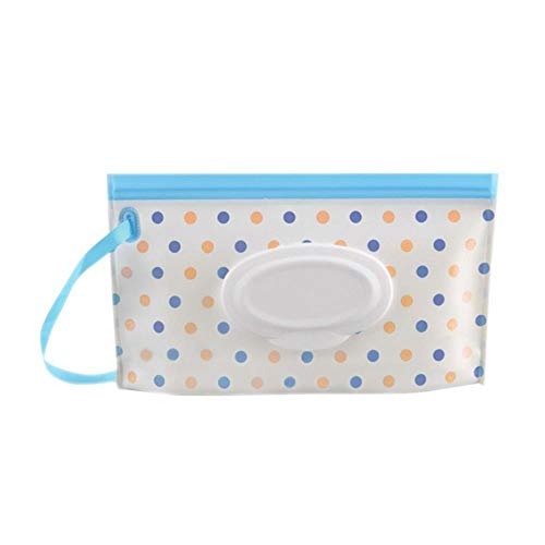 Bolsa de exterior portátil Toallitas para toallitas Funda para cosméticos impermeable Funda...