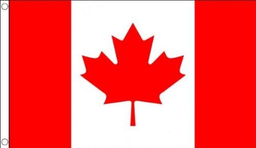 3ft x 2ft (90 x 60 cm) canada canadien 100% Matériau POLYESTER flag banner idéal pour BAR CLUB école FESTIVAL affaires Décoration pour fête
