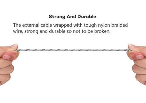 Bolatus Multi USB Kabel [5ft+3ft+1ft] Nylon 3 in 1 Ladekabel Universal Handy Mehrfach Ladegerät Lang 1.5m Kurz 30cm Kabel Adapter Kompatibel mit Smartphone, Tablets und mehr - 3 Pack