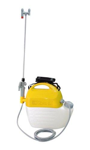 工進(KOSHIN) 電気式 噴霧器 タンク 5L ガーデンマスター GT-5V ハイパワー AC 100V 防除 消毒 散布 肩掛け 家庭 お庭 手軽 簡単 高木