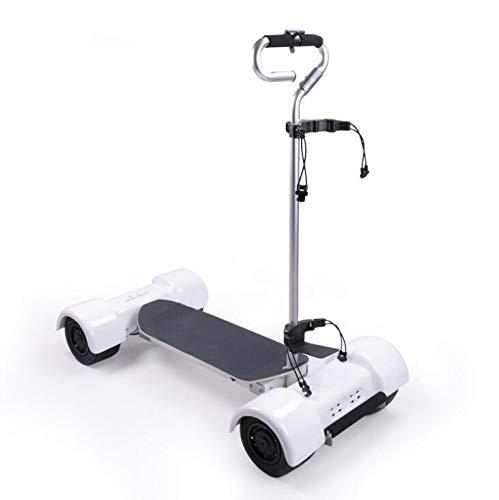 FLY CC Elektrische Golf-Trolley, Elektro-Golf Motorroller Wiederaufladbare Golf Trolley Mit Non-Slip Fußpedale, Vakuum-Reifen, Hochfesten Aluminiumlegierung Lever, Schwamm-Handgriff