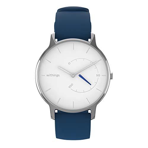 Preisvergleich Produktbild Withings Move Timeless Chic Silikon-Armbanduhr,  Erwachsene,  Unisex,  Weiß,  36 mm