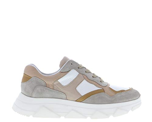 Tango | Kady Fat 10-da Natural/beige/Nude Sneaker - White Sole | Maat: 39