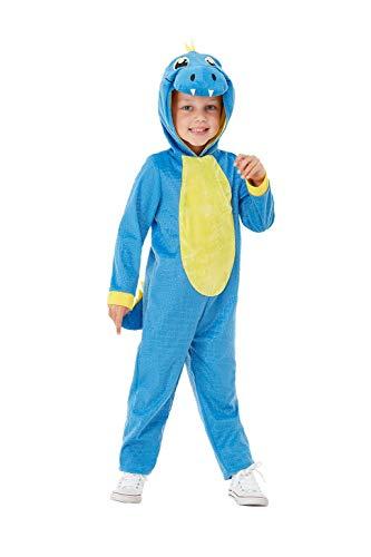 Smiffys 47710T1 - Disfraz de dinosaurio para niño pequeño, unisex