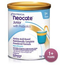 Neocate Junior Unflavored (case of 4 x 14.1 OZ cans) by Nutricia