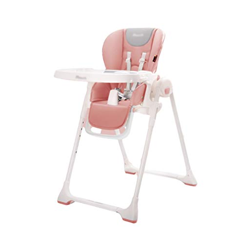 Check Out This GaoYunQin Baby high Chair Portable Foldable Baby High Chair, Adjustable Height and Ba...