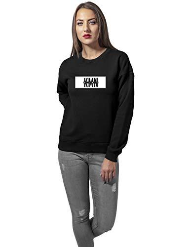 KMN Ladies Sweater schwarz, Farbe:schwarz, Größe:XS