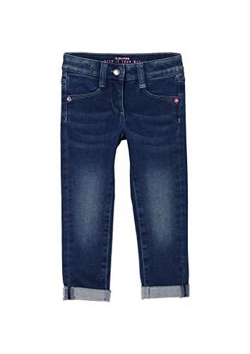 s.Oliver Junior Mädchen 403.10.011.26.180.2054718 Jeans, 56Z6, 128 cm Slim
