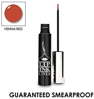 LIP INK Liquid Lip Liner - Henna Red | Natural & Organic Makeup for Women by Lip Ink International | 100% Organic, Kosher, Vegan