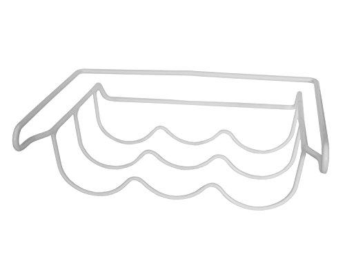 Europart Universal-Flaschenhalter zum Einhängen unter einem Kühlschrank-Fach, 330x 305x 115mm