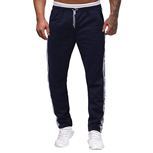 Minikimi heren broek Cargo Chino jeans stretch jogger sportbroek slimfit trainingsbroek casual fitness joggingbroek lange broek met zakken