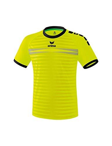 Erima Ferrara 2.0 Maillot de Football Homme Jaune Fluo/Noir FR : XL (Taille Fabricant : XL)