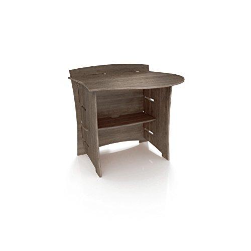 Legaré Furniture Peninsula Office Desk Attachment Sectional, Driftwood