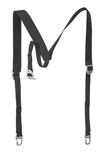 VAUDE Bandoulière avec Boucle de Fixation pour tobel S/M de Rechange, Black, One Size
