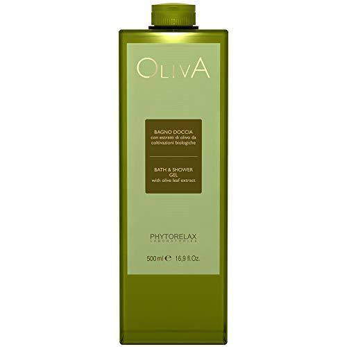 Phytorelax Bade- und Duschgel mit Olivenöl, 1er Pack (1 x 500 ml)