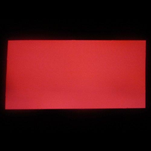 EL-Folie/Leuchtfolie/Plasmafolie Farbe: ROT Größe: 200x100mm inkl. Zubehör