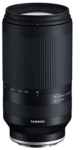 Tamron 70-300mm F/4.5-6.3 Di III RXD para Sony Mirrorless Full Frame/APS-C E-Mount (Tamron 6 años de garantía Limitada de Estados Unidos), Negro