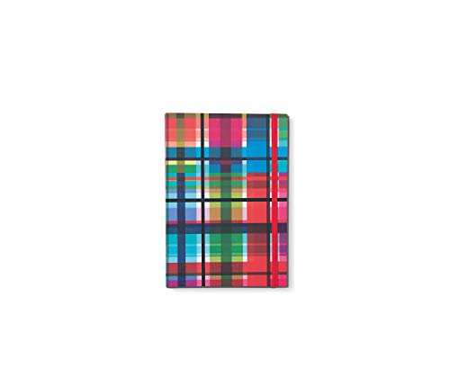 Remember Notizbuch DIN A5 mit Gummiband Zigzag x 15 x 21,3 x 1,5 cm