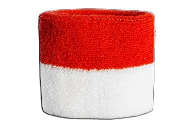 Flaggenfritze Schweißband Motiv Fahne/Flagge Indonesien + gratis Aufkleber