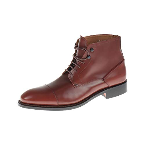 Prime Shoes heren schoenen laarzen veterschoen Tecno Horse Cognac PS17214FS